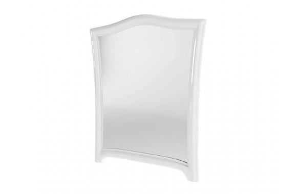 Зеркало Винтаж цвете Белый глянец