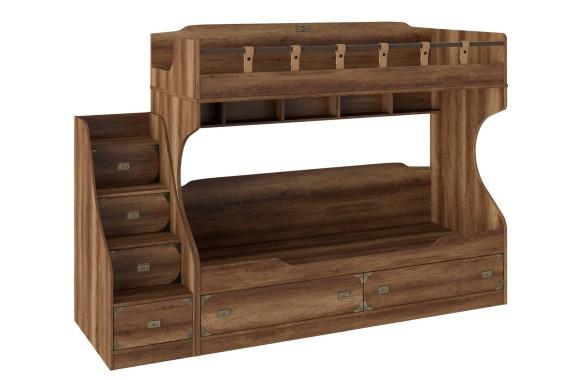 Двухъярусная детская кровать Навигатор
