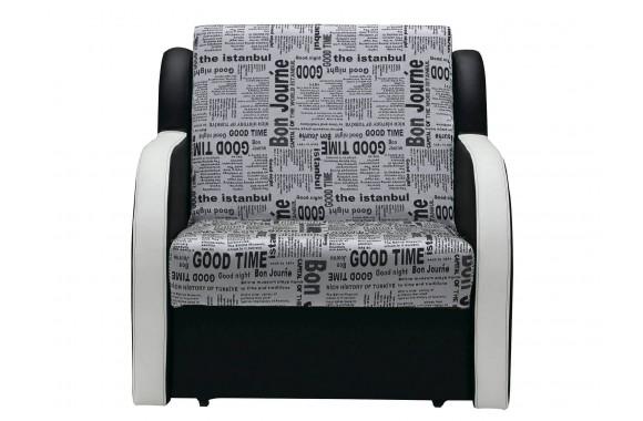 Кресло из экокожи Фурор
