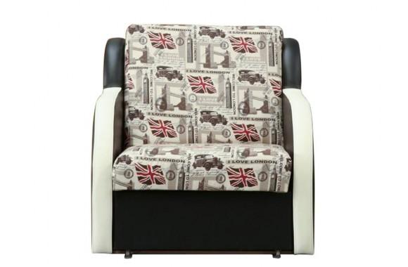 Кресло из кожи Фурор