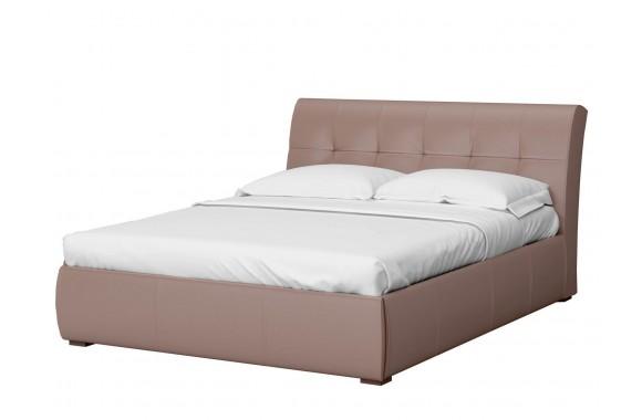 Мягкая кровать с ящиком и ПМ Бьянка (181х201)