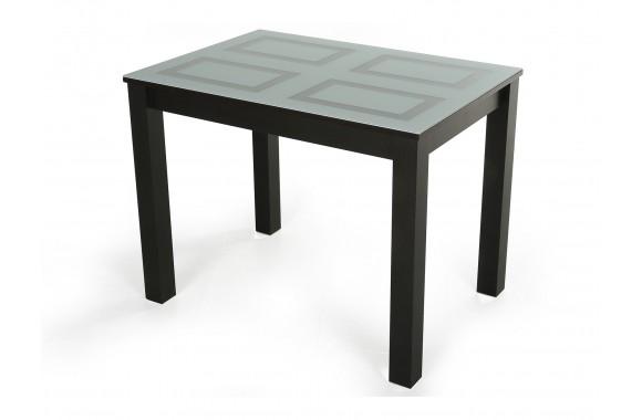Стеклянный стол Ривьера-1