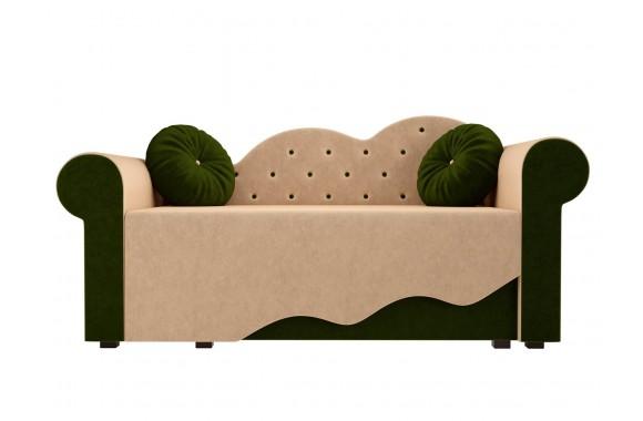 Диван зеленый Кровать детская Тедди-2 Правая (170х70)