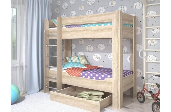 Детская кровать с ящиками Мийа