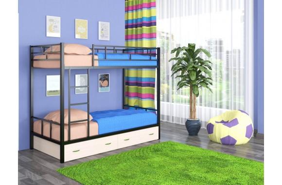 Детская кровать с ящиками Ницца-2