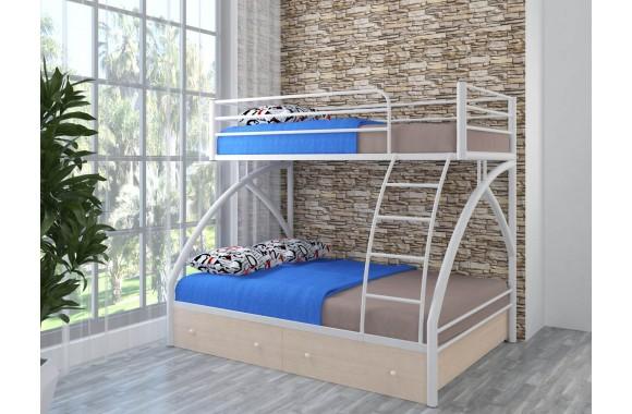 Детская кровать с ящиками Клео