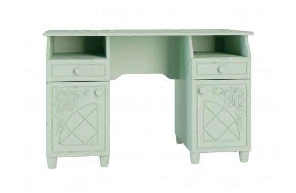 Туалетный столик подсветкойСоня в цвете Мята Шагрень