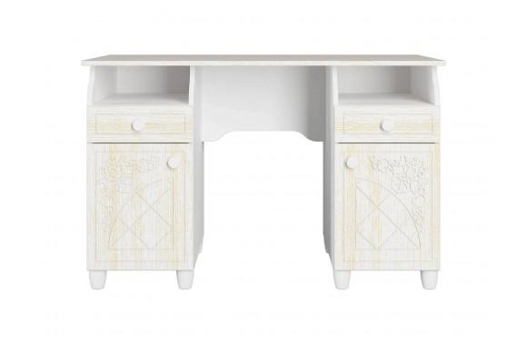 Туалетный столик подсветкойСоня Премиум в цвете Патина Ясень