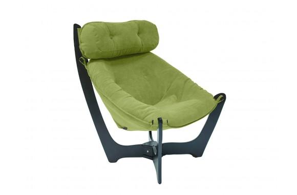 Кресло с деревянными подлокотниками Dondolo