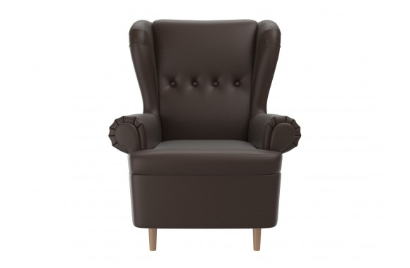 Кресло со спинкой на колесах Торин
