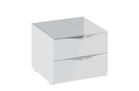 Тумба прикроватная с 2 ящиками Глосс