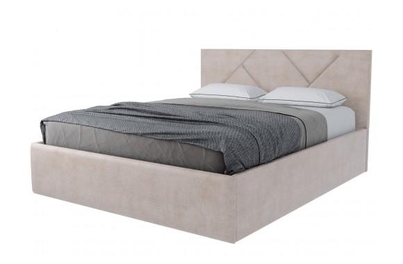 Кровать с мягким изголовьем Лима