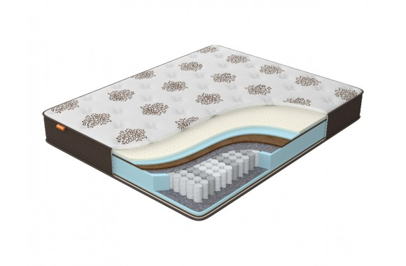 Матрас Орматек Comfort Duos Middle/Hard (Brown) 200x210