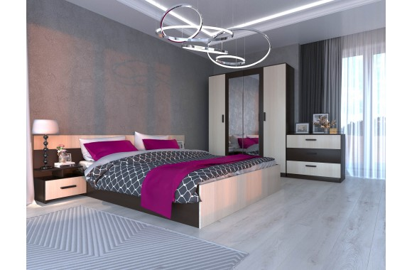 Модульная спальня Виктория цвете