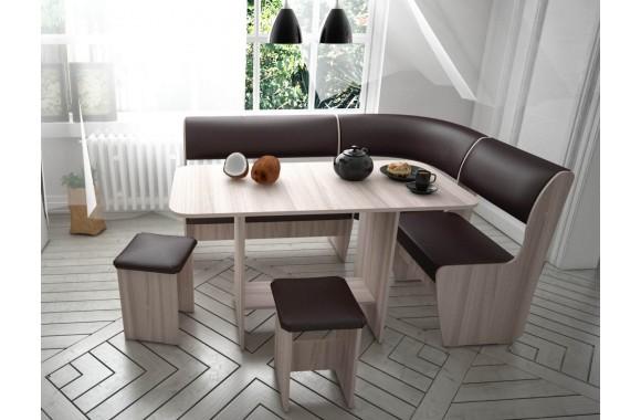 Угловой кухонный диван Консул-1 ЭКО