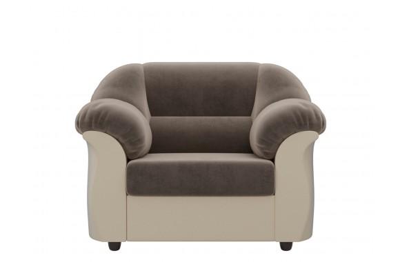 Кресло из экокожи Карнелла