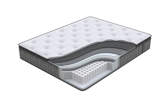 Матрас Орматек Energy Touch Middle pillow-top (Dark Grey) 140x200