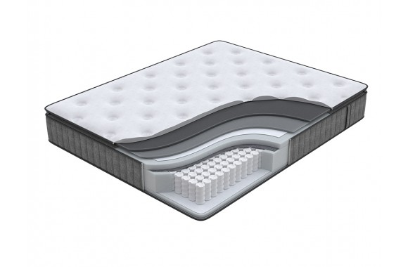 Матрас Орматек Energy Touch Middle pillow-top (Dark Grey) 120x195