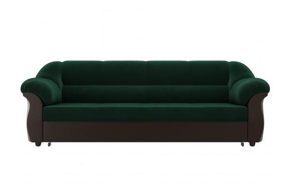 Диван зеленый Карнелла