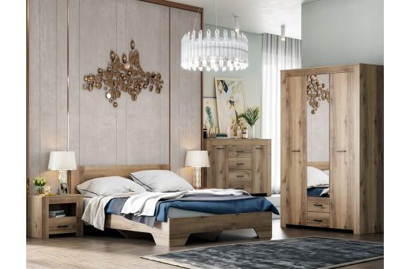 Модульная спальня Квадро