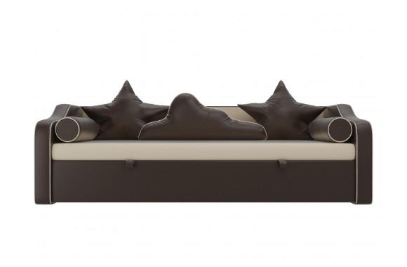 Кожаный диван Детский кровать Рико