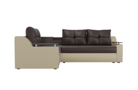 Кожаный диван Тесей